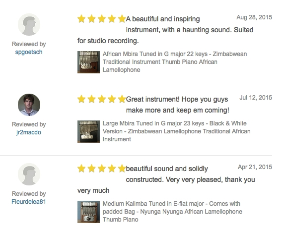 Recent Reviews Ebay September 2016
