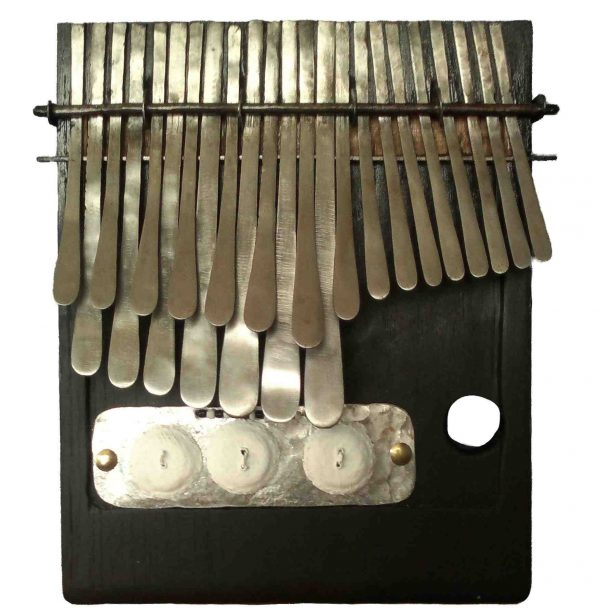 Large Mbira in G - Special Edition Black & White