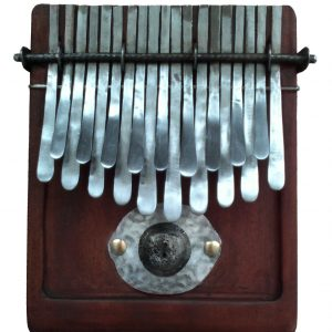 Kalimba 19 key Large in Major Tuning - Thumb piano African Nyunga nyunga - Brown Wood