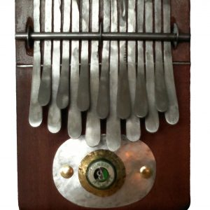 African Kalimba in F major - Medium size 17 x 14cm