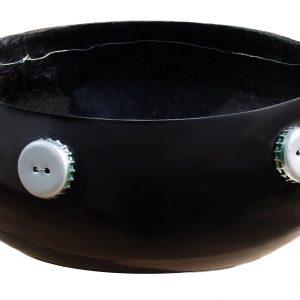 Small Fibreglass Calabash Kalimba Silver