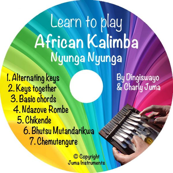 Book Learn to play African Kalimba (Nyunga Nyunga) +CD