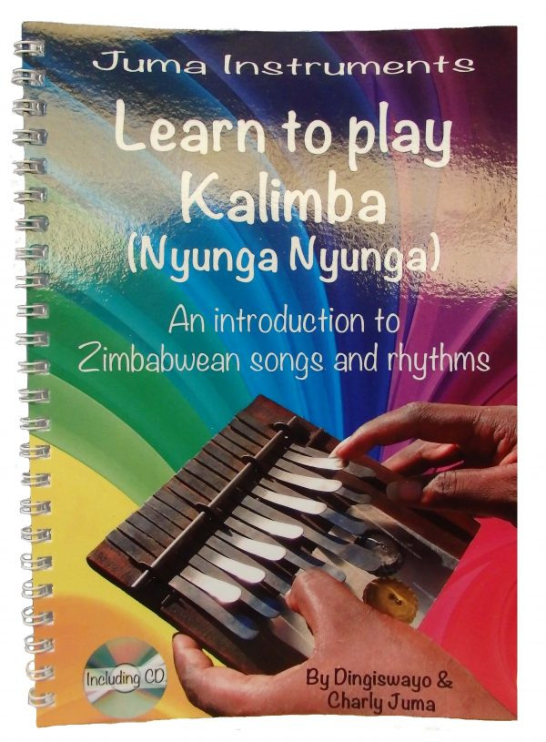 Package Medium Kalimba in G major + Book Learn to play African Kalimba (Nyunga Nyunga) +CD