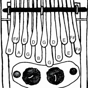 kalimba G major Large