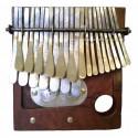 Mbira Tuned in G - Small size - Mbira dza Vadzimu - Brown wood