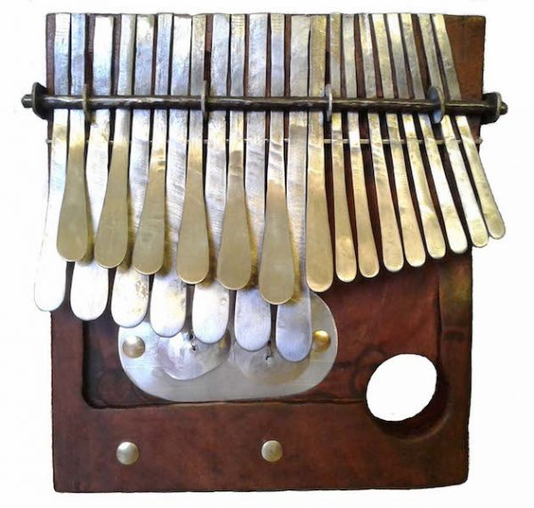 Mbira Tuned in G - Small size - Mbira dza Vadzimu - Brown wood