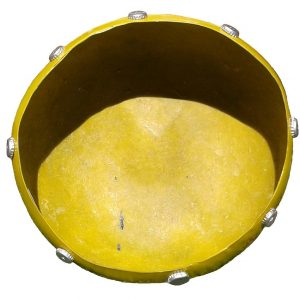 Fibreglass Gourd Yellow Large 40cm 16inch
