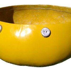 Fiberglass Gourd Calabash Deze - Yellow - Large 40cm 16inch