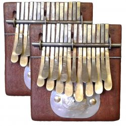 Two Kalimba C Major Special Package - Two Small Nyunga Nyunga