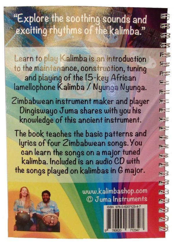 Package Medium Kalimba in G major + Book Learn to play African Kalimba (Nyunga Nyunga) +CD