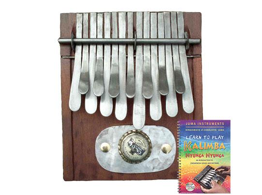 kalimba and book