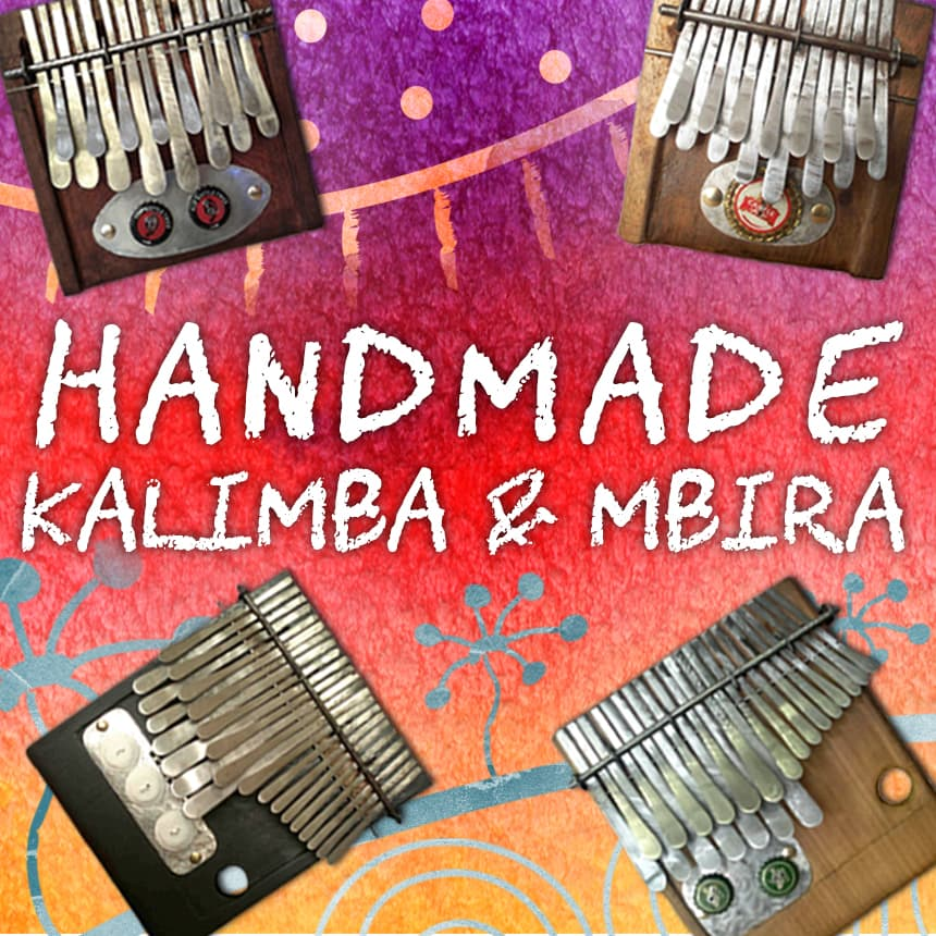 Handmade Kalimba and Mbira